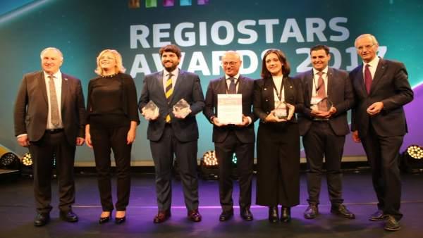Foto/ Premios 'Regiostars'