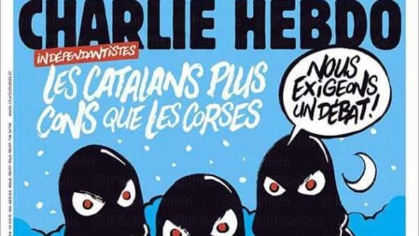 'Charlie Hebdo', sobre la DUI
