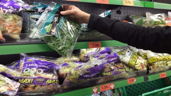 Precios, IPC, inflación, consumo, ensalada, ensaladas, compra, compras, comprar