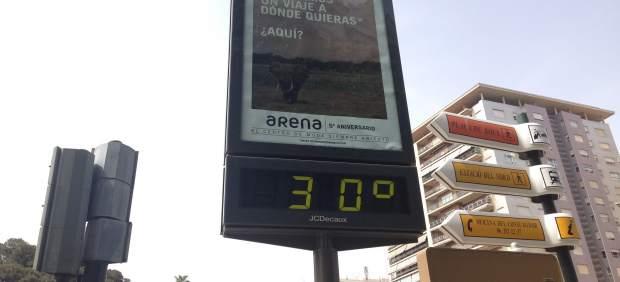 El pont comença amb cels clars i temperatures de fins als 30ºC a la Comunitat Valenciana
