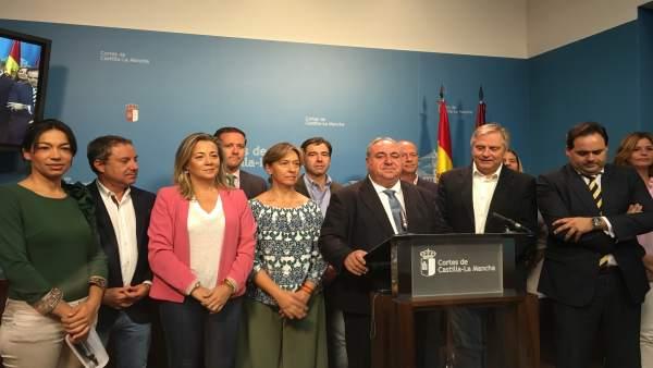 Diputados del PP en las Cortes