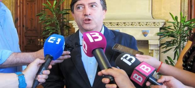 El portavoz del PP en el Consell de Mallorca, Mauricio Rovira