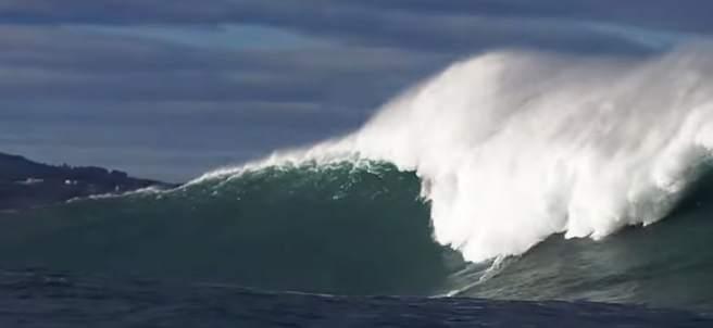 La Belharra, la única ola gigante de Europa