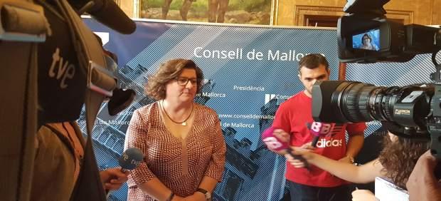 La consellera del PP en el Consell, Catalina Cirer