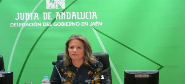 La delegada del Gobierno andaluz en Jaén, Ana Cobo.