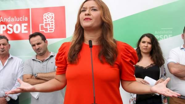 Verónica Pérez aspira a seguir liderando el PSOE de Sevilla.