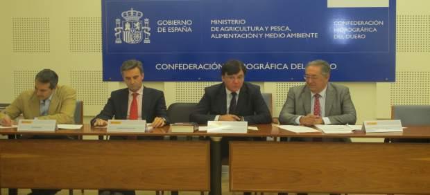 Reunión de la Comisión de Desembalse de la CHD.