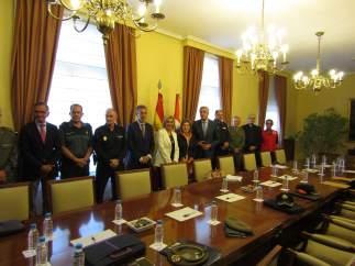 Reunión de la Junta Local de Seguridad en Ávila.