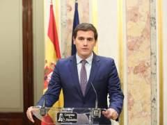 Rivera traslada su apoyo a Rajoy para aplicar el 155 y convocar elecciones