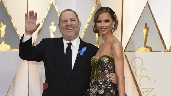 Harvey Weinstein y Georgina Chapman