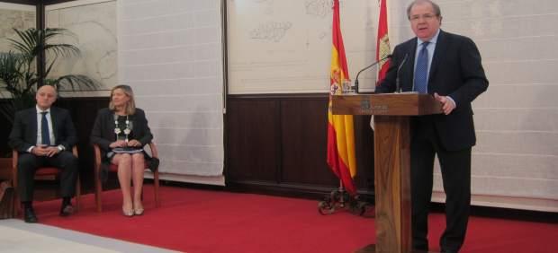 Valladolid. El presidente de la Junta, Juan Vicente Herrera