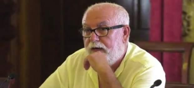 El diputado provincial de IU, Antonio Alba