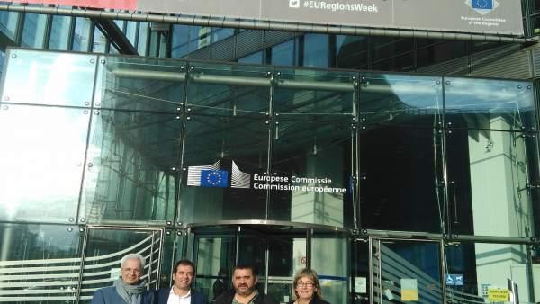 Alcaldes de Eudel en Bruselas