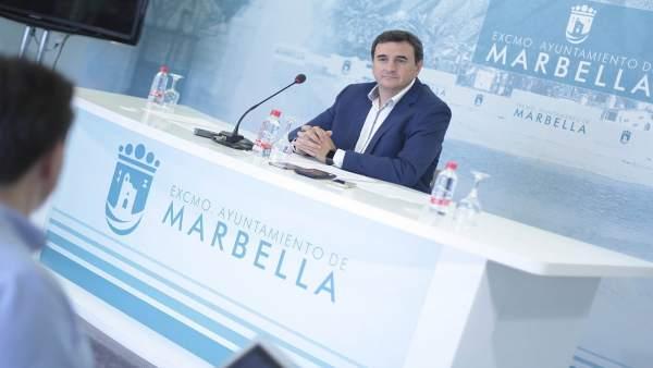 Félix Romero. Portavoz equipo de gobierno PP Marbella