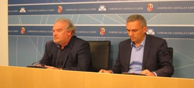 José Francisco Martín y Francisco Izquierdo