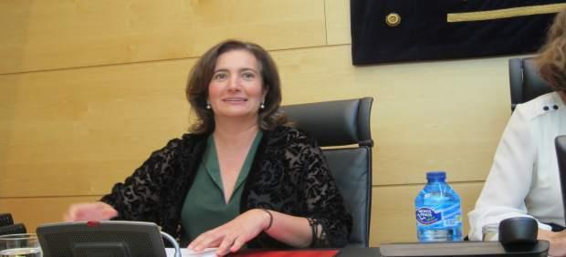 La consejera de Cultura de la Junta, Josefa García Cirac