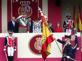 Desfile del 12 de Octubre, Día de la Fiesta Nacional