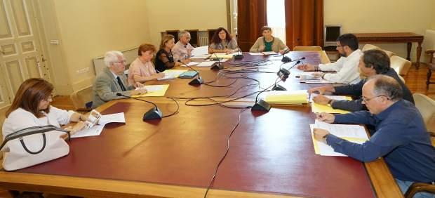Reunión de la Fundación Muncipal de Deportes