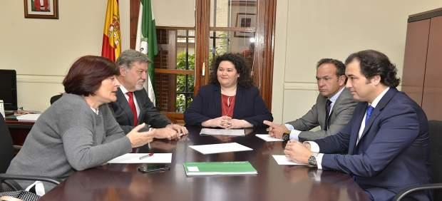 Nota De Prensa Reunión Delegada Del Gobierno De La Junta Con Presidentes De La R