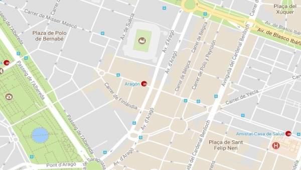 Avenida de Aragón de València