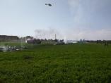 Eurofighter estrellado en Albacete