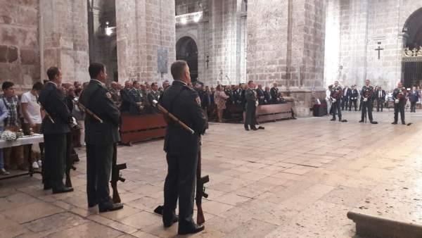 Valladolid. Celebración del Día de la Hispanidad
