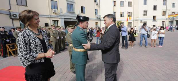 Segovia. Reconocimiento de la Guardia Civil a la Diputación