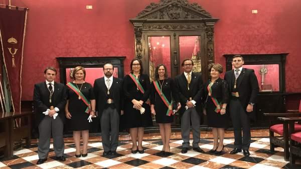 Concejales del PP en Granada