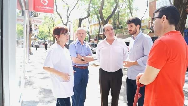 """Ciudadanos (Cs)  Moyano (Cs) Urge A """"Medidas Como La Policía De Barrio Ante La E"""