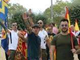 Manifestacion ultraderecha barcelona
