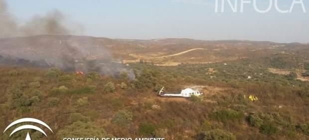 Incendio en El Ronquillo