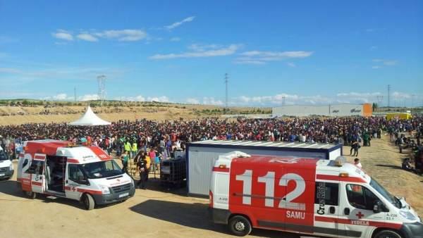 Dispositivo Cruz Roja Nafarroa Oinez 2017 En Lesaka Cruz Roja Navarra