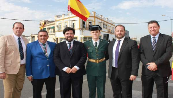 Inauguración Glorieta de la Guardia Civil