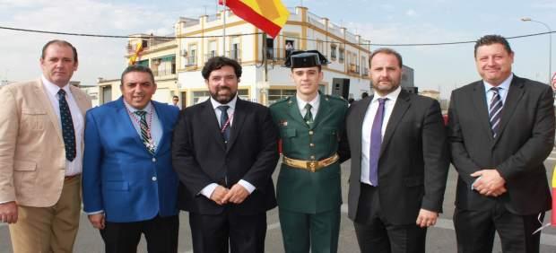 Inauguración Glorieta de la Guardia Civil