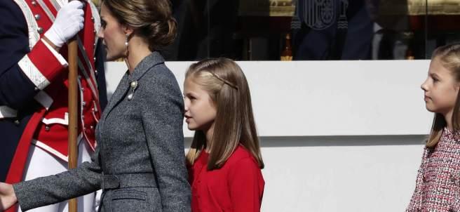 Infanta Sofía mano vendada