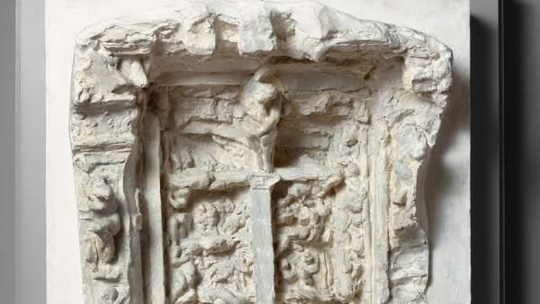 Tercera maqueta de La puerta del Infierno, 1880-1881