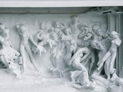 Tímpano de La puerta del infierno, 1888-1889
