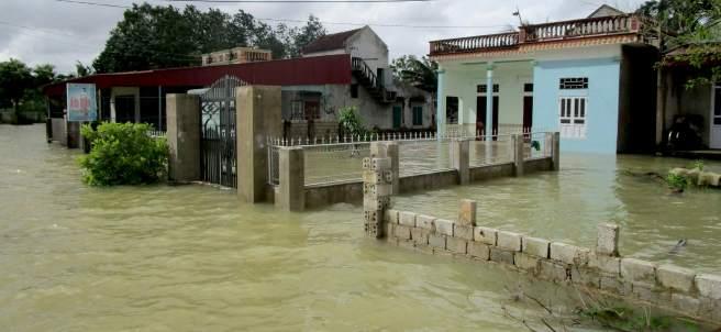 Inundaciones en Vietnam