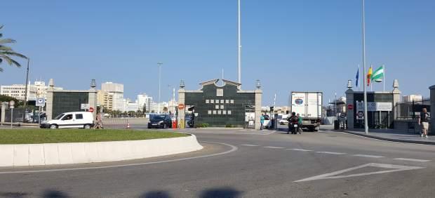 El puerto de Cádiz