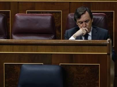 Rafael Hernando, portavoz del PP en el Congreso de los Diputados.