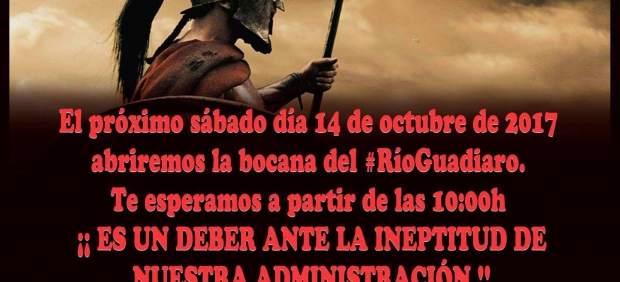 La campaña de Verdemar en el río Guadiaro