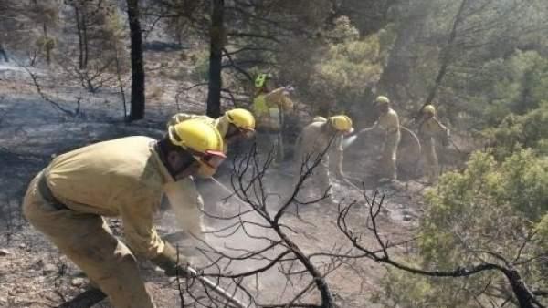 Aragón prolonga el periodo de riesgo de incendios hasta el 1 de noviembre