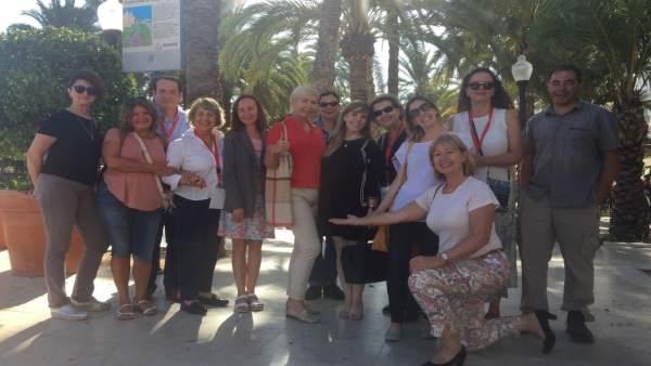 Agents especialitzats en turisme idiomàtic de set països visiten la Comunitat Valenciana