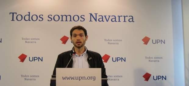 Sergio Sayas, parlamentario de UPN