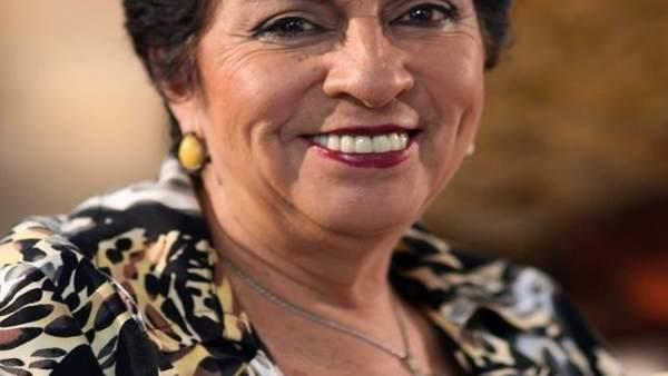 La periodista Sara Lovera.