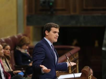 Albert Rivera en el Congreso