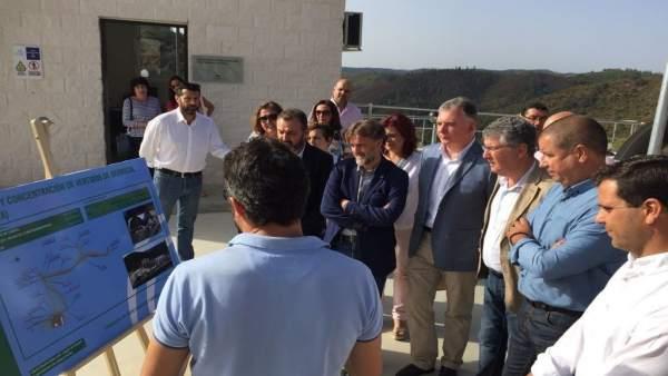 Inauguración de la EDAR de Berrocal (Huelva)
