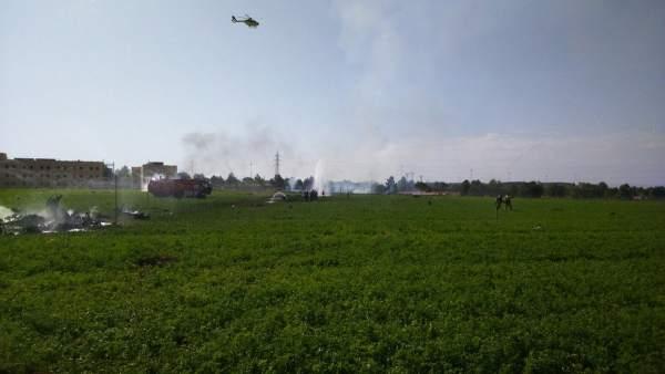 Accidente Eurofighter Albacete