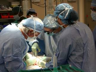 Cirugía, operación, trasplante