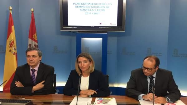 Alicia García presenta el Plan Estratégico de Servicios Sociales